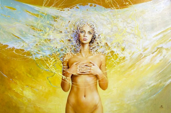 Fashion Cycle  - Paintings by Artist Karol Bak (7)