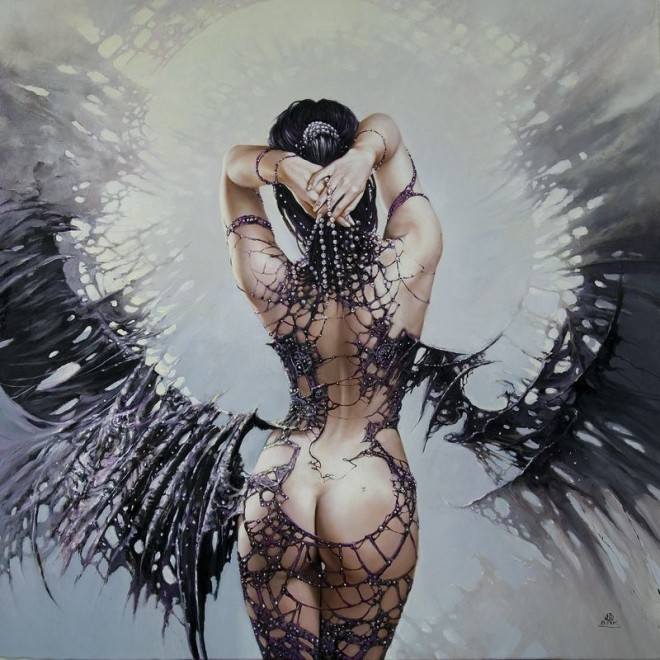 Fashion Cycle  - Paintings by Artist Karol Bak (8)
