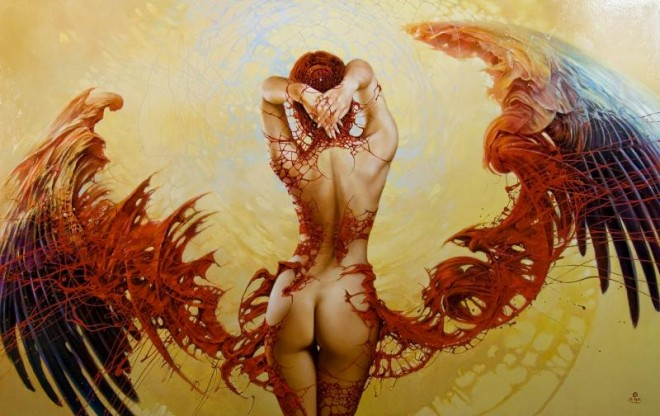 Fashion Cycle  - Paintings by Artist Karol Bak (9)