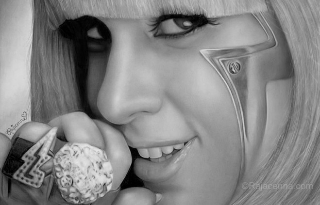 Lady Gaga by Rajacenna