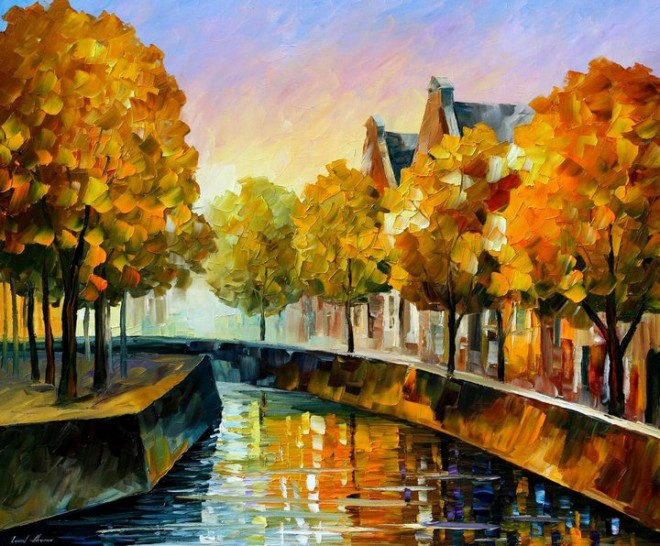 colorful painting best beautiful leonid afremov vivid colored oil acrylic water color (14)