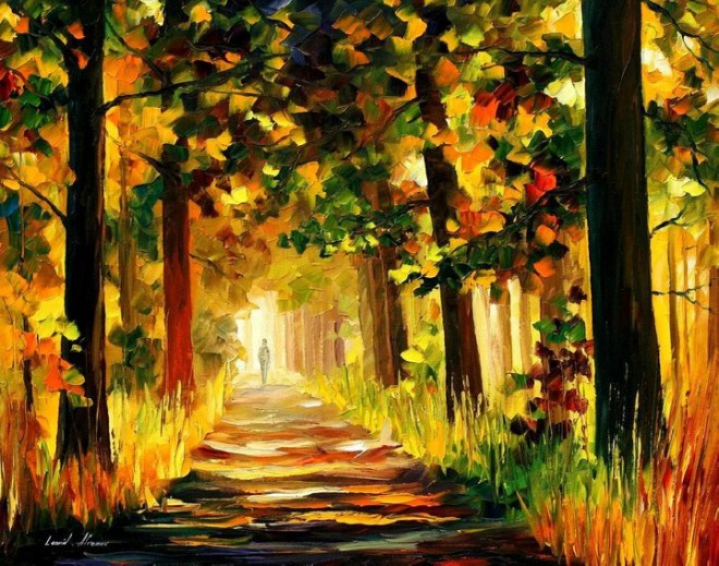 28 Beautiful Vividly Colored Landscapes and Paintings by Leonid ...