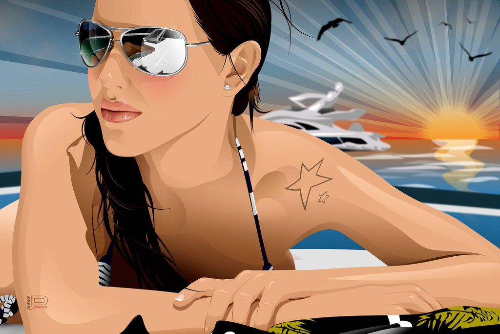 luisa abadia vector tracing