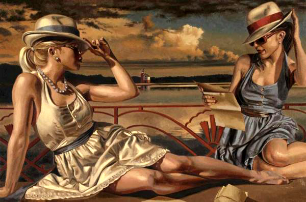 peregrine-heathcote-oil-paintings-realistic-retro(33)