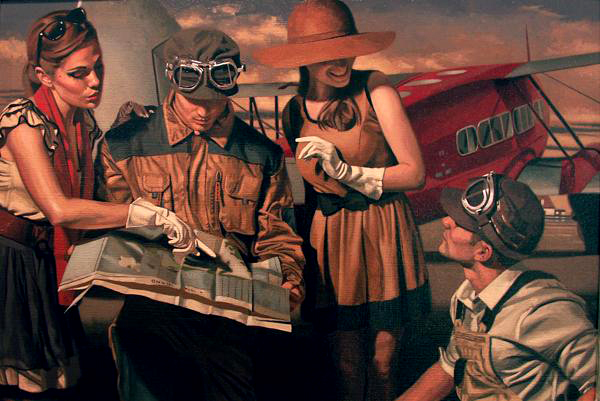 peregrine-heathcote-oil-paintings-realistic-retro(34)