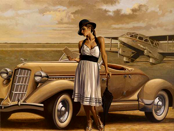 peregrine-heathcote-oil-paintings-realistic-retro(37)