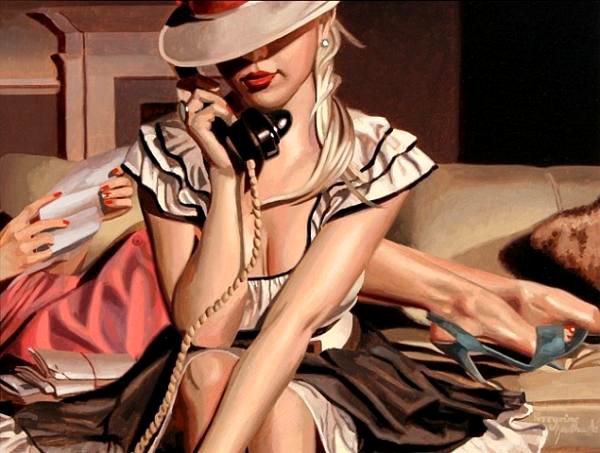 peregrine-heathcote-oil-paintings-realistic-retro(38)