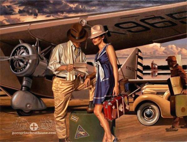peregrine-heathcote-oil-paintings-realistic-retro(40)