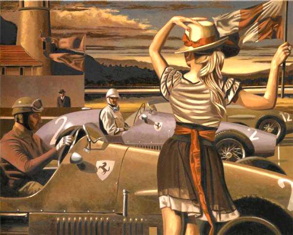 peregrine heathcote oil paintings