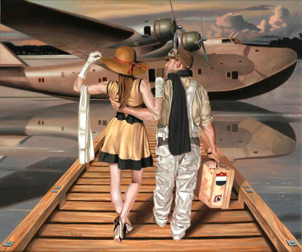 peregrine-heathcote-oil-paintings-realistic-retro(66)