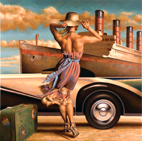 Peregrine Heathcote Oil Paintings%20(68) 25 Beautiful Oil Paintings by Peregrine Heathcote