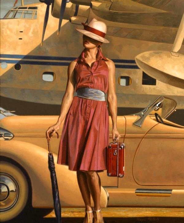 Peregrine Heathcote Oil Paintings%20(70) 25 Beautiful Oil Paintings by Peregrine Heathcote