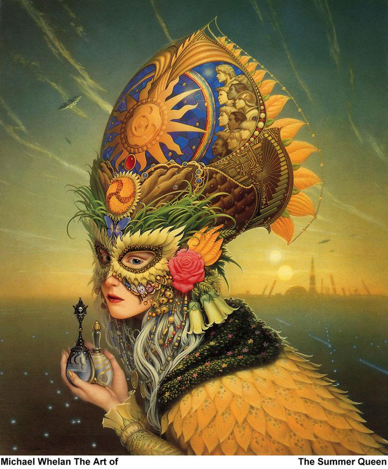 summer queen michael whelan masquerade
