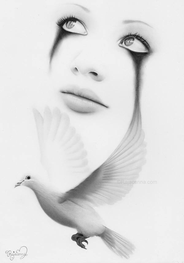 tears of freedom by rajacenna