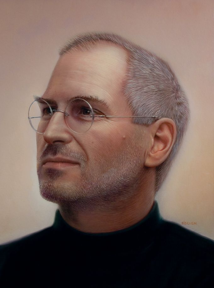 steve jobs digital painting