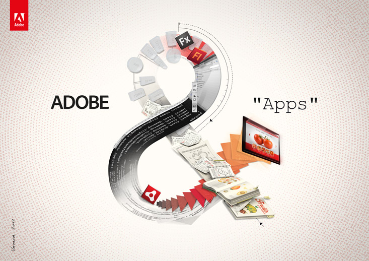 adobe creative campaign splash design