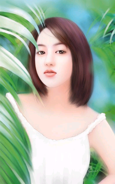 chinese woman paintings (18)