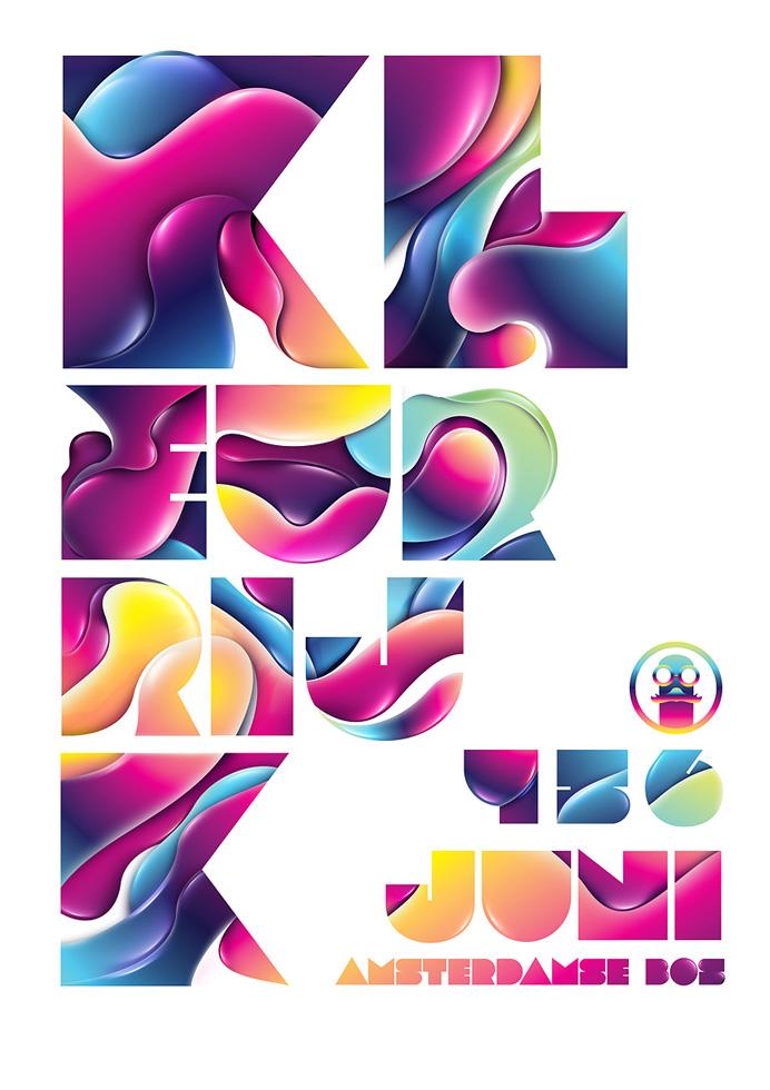 creative unique graphic design by rik oostenbroek