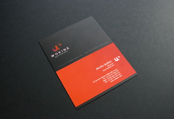 darkcolor businesscard