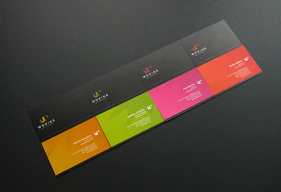 darkcolor businesscard