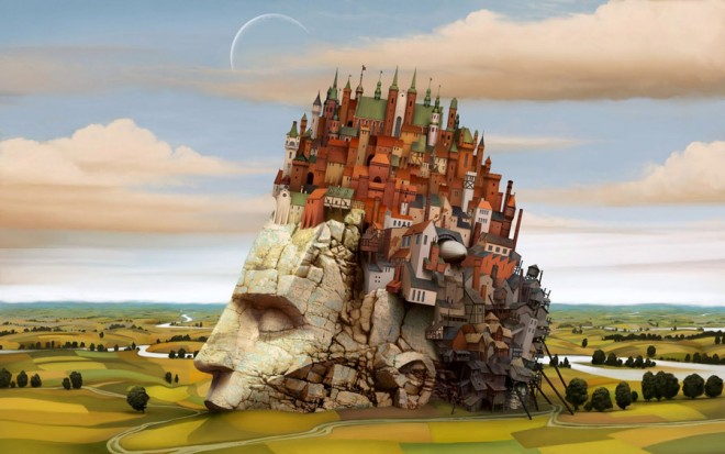 dream world painting jacek yerka (10)