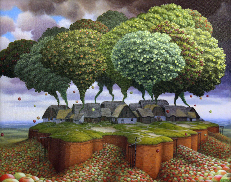 dream world painting jacek yerka 11