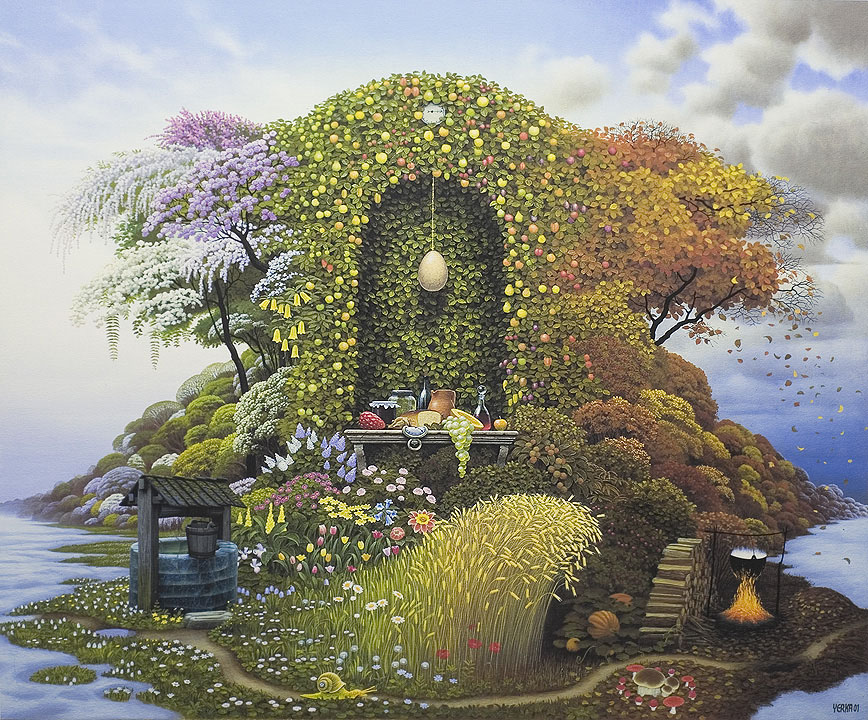 dream world painting jacek yerka 18