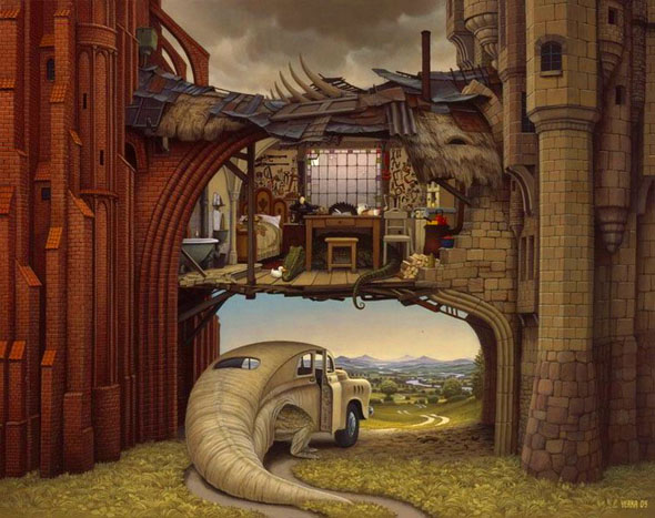 best-beautiful-dream-world-oil-painting-fine-art-jacek-yerka (21)