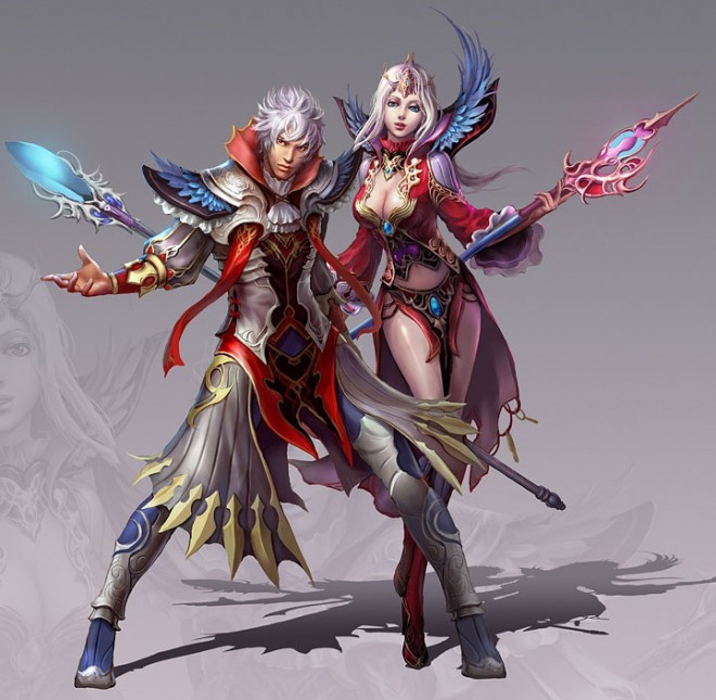fantasy characters digital paintings guangjian huang%20(4).forblog 25 Stunning Digital Paintings and Oriental Fantasy Characters by Guangjian Huang