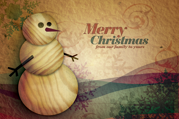 merry christmas greeting card 17