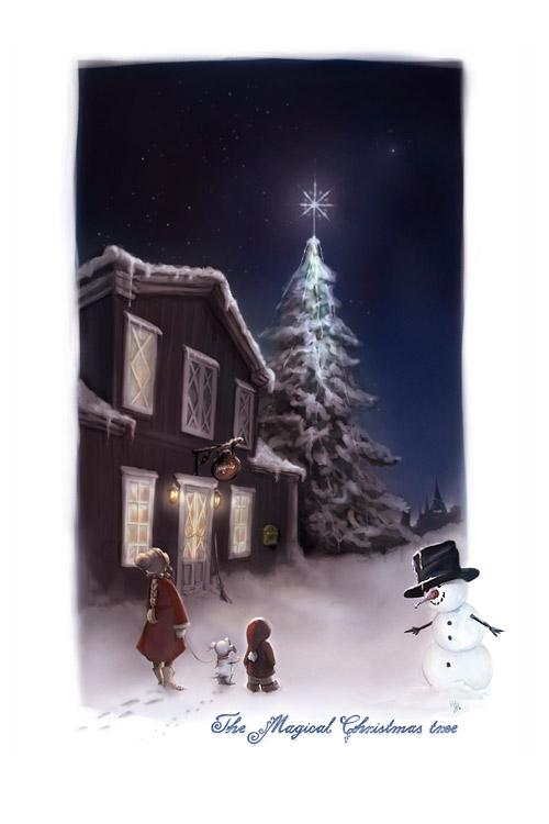 merry christmas greeting card 29