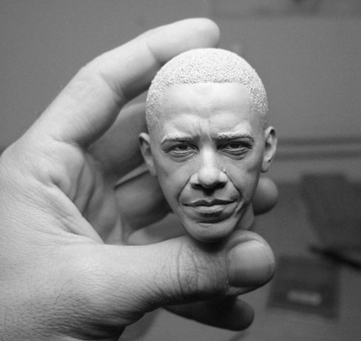 obama Sculputre by Adam Beane (3)