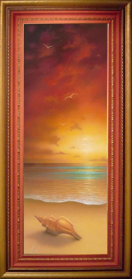 painting sun rise 16