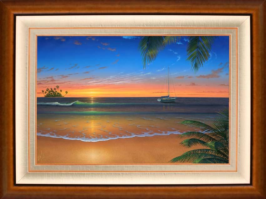 painting sun rise 6