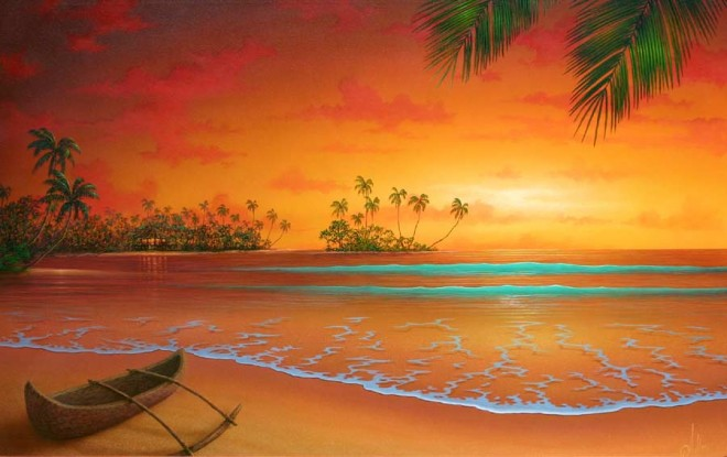 painting sun rise (8)