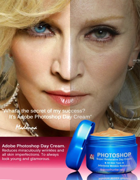 photoshop after before retouching