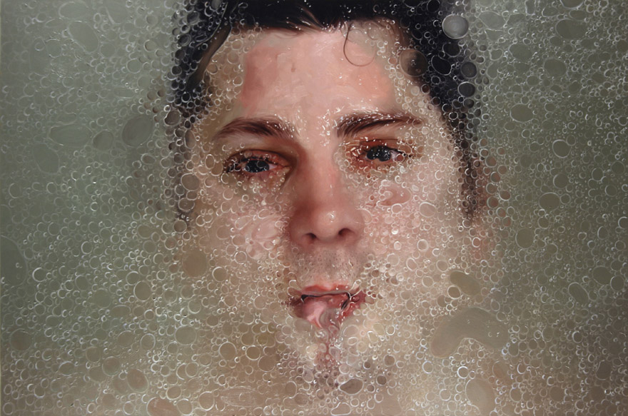 hyper realistic oil painting