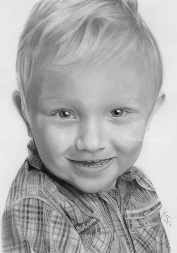 smilingboy by Rajacenna