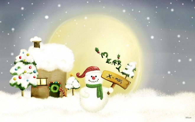 snowman-christmas-wishes
