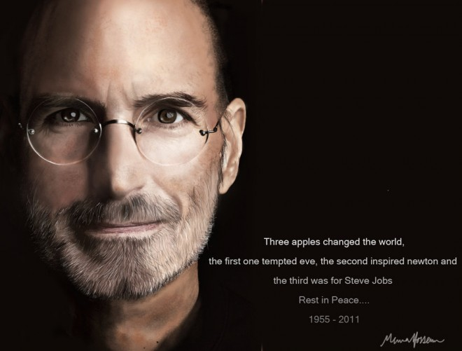 steve%20jobs%20painting%20(5).forblog 25 Steve Jobs Digital Paintings   Inspiring Collection