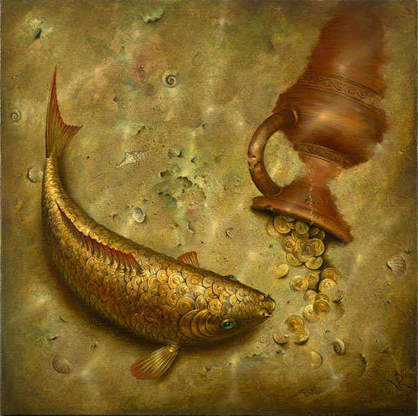 vladimir%20kush%20webneel Realistic paintings and Creative thinking of Artist Vladimir Kush
