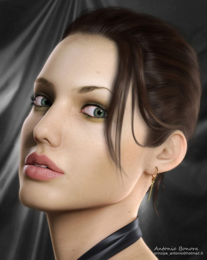 webneel 3d characters