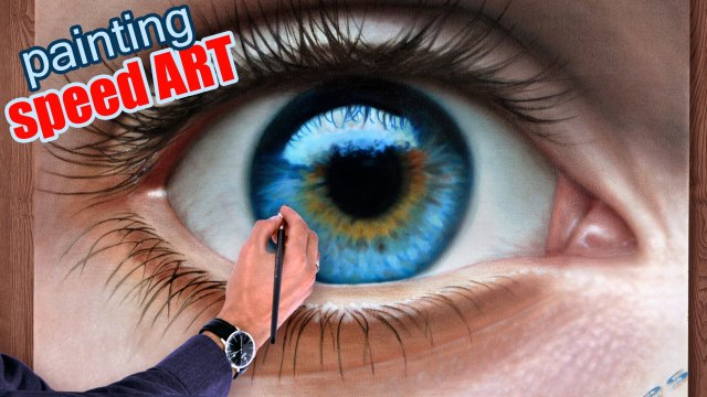 How to draw a Realistic Eyes by Malen Zeichnen