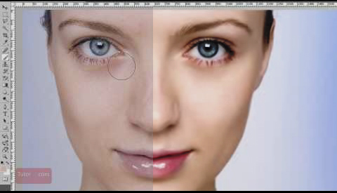 Photoshop Makeover Tutorial - In depth