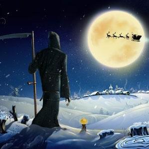 Santa and Dji - Beautiful 3D Animated Christmas Video Greeting Card