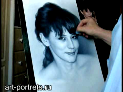 Portrait drawing of your beauty