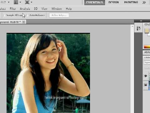 Blur the bg and Focus on main object effect in Photoshop