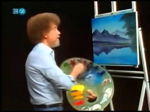 Real-Life Speed painting by Bob Ross