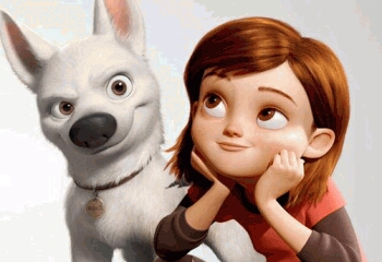 Inspiring Chase Scene from Bolt - A Disney Animation Movie