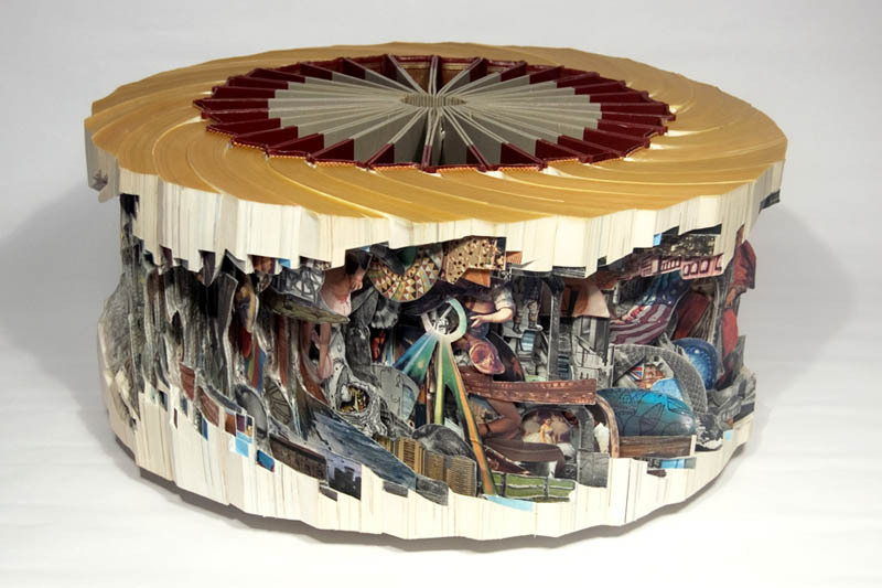 Old Books are Transformed into Amazing Sculptures by Brian Dettmer